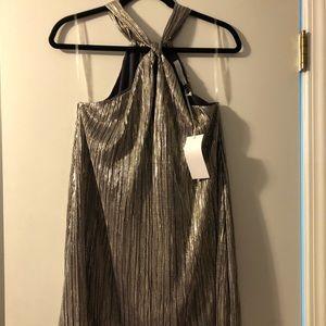 Lush Metallic Cocktail Dress